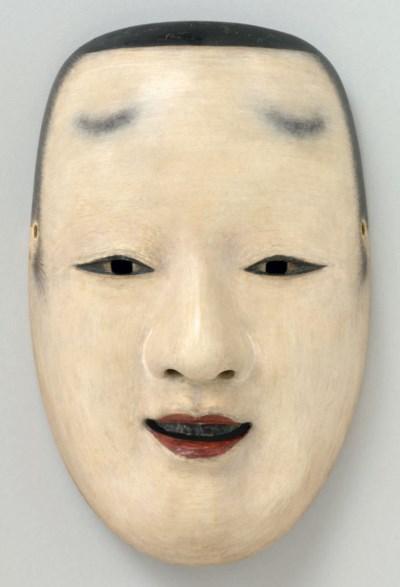Noh mask of Atsumori
